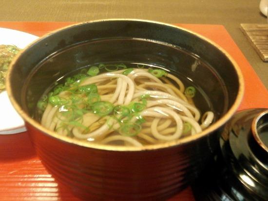 日本蕎麦の吸い物