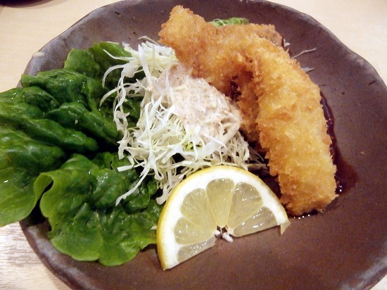 魚のフライ