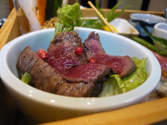 牛肉のステーキです。