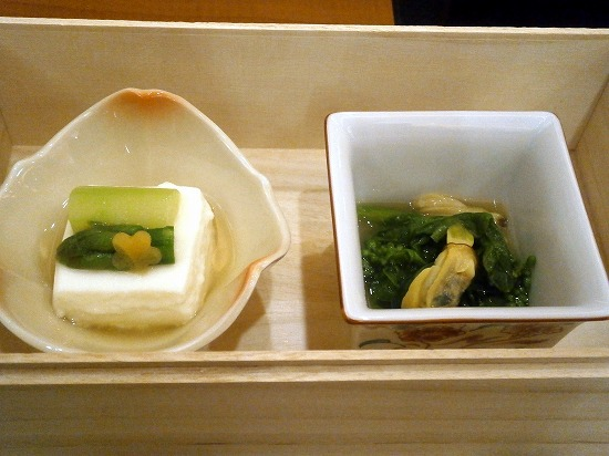本日の注文は「花の膳」2200円です。