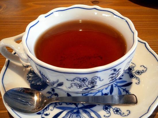 こちらは紅茶です。