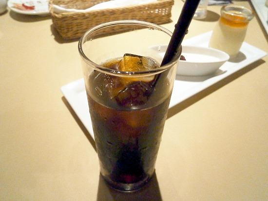 アイスコーヒーです。