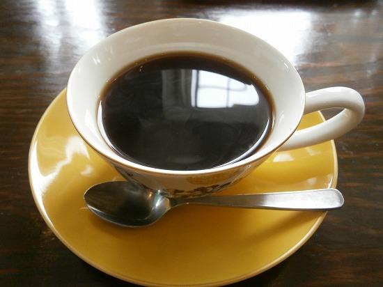 コーヒーです。 コーヒーカップが素敵♪