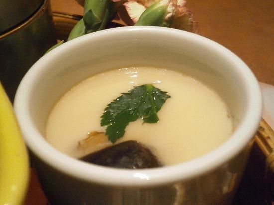 茶碗蒸しもしっかり出汁が利いていて、美味しかったです。