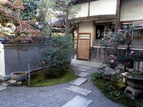 こちらは中庭です。