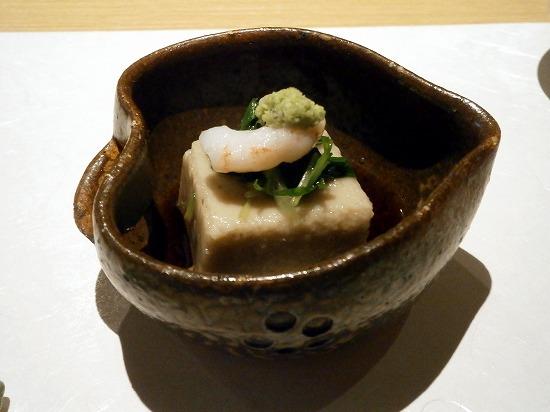胡麻豆腐、いいお味でした。