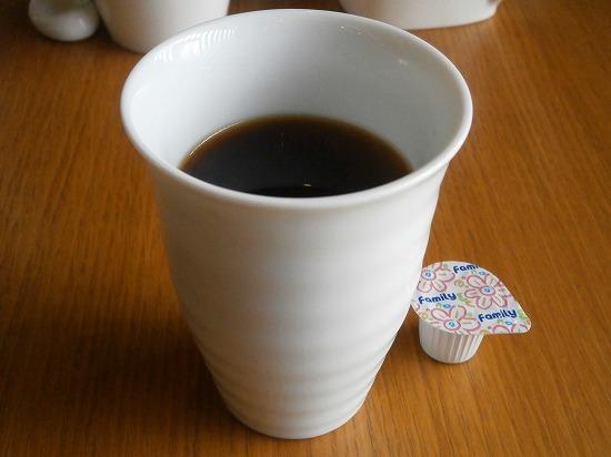 コーヒーも付いていました。