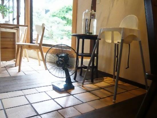 アンティークな扇風機・・・