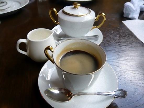 コーヒーはおかわりできます。