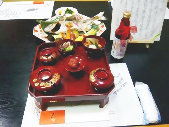 祝い膳(百々膳)3,800円