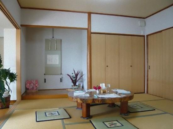 和室も予約があるようで、セッティングしてありました。