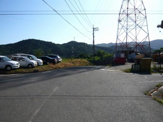 中国電力の鉄塔