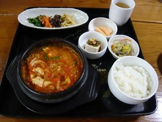 豆腐チゲセット