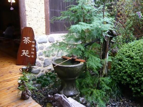 茶苑の入口です。素敵でしょ~(^^♪