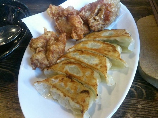 餃子と唐揚げ