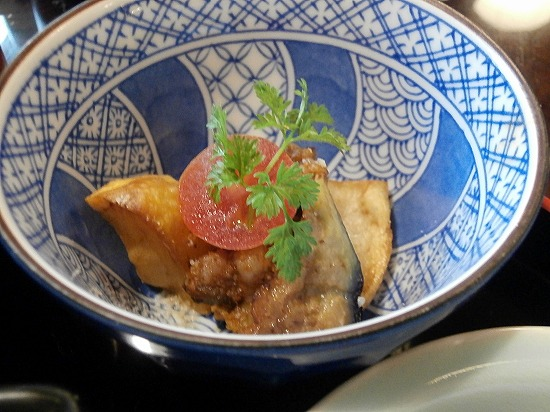 ジャガイモとナスの揚げ煮