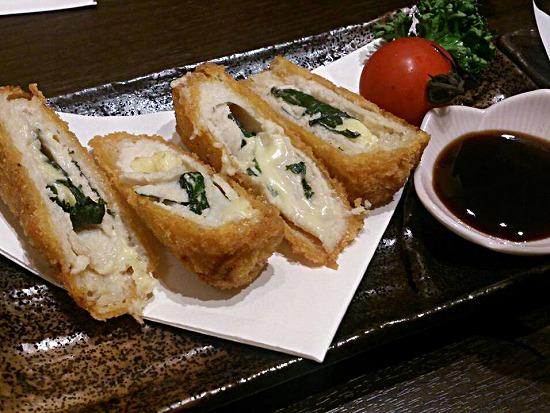 ササミ大葉チーズ巻き