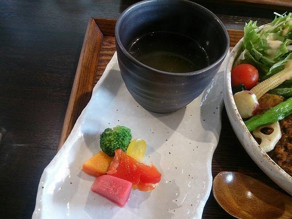 日替わりの一品、スープ