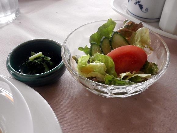 サラダ、漬け物