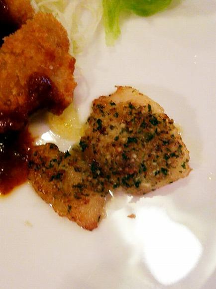 白身魚のガーリックバター焼き
