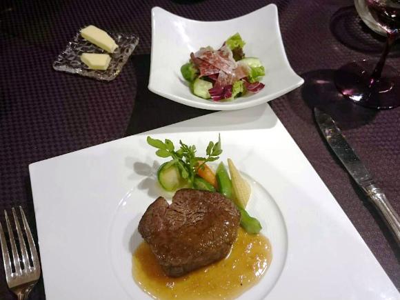 ステーキランチ オーストラリア産牛フィレ肉
