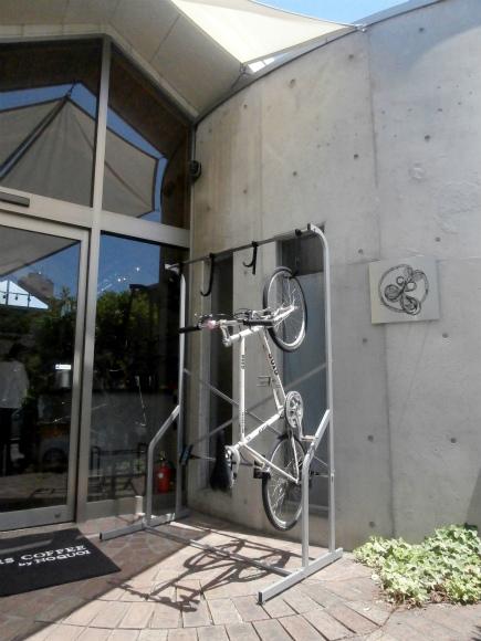 自転車のスタンド
