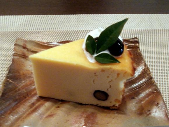 お豆腐チーズケーキ