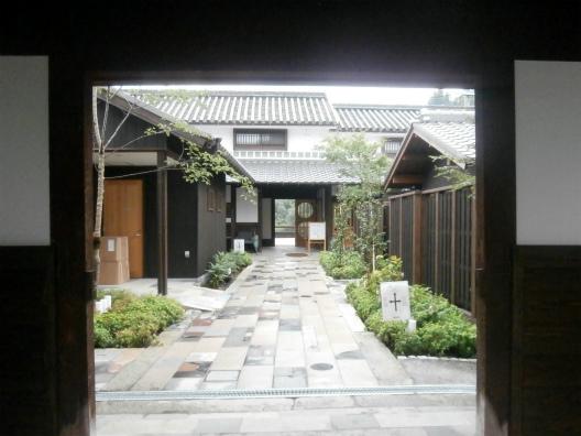 矢掛屋中庭