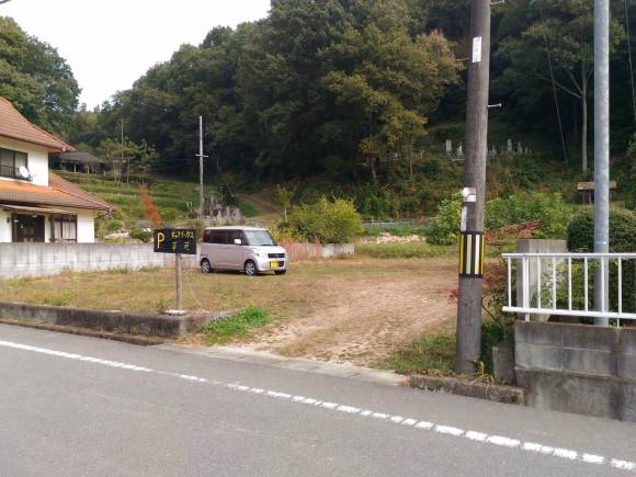 ギャラリーカフェ草苑駐車場