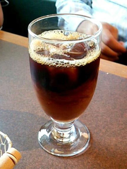 「アイスコーヒー」280円(税別)