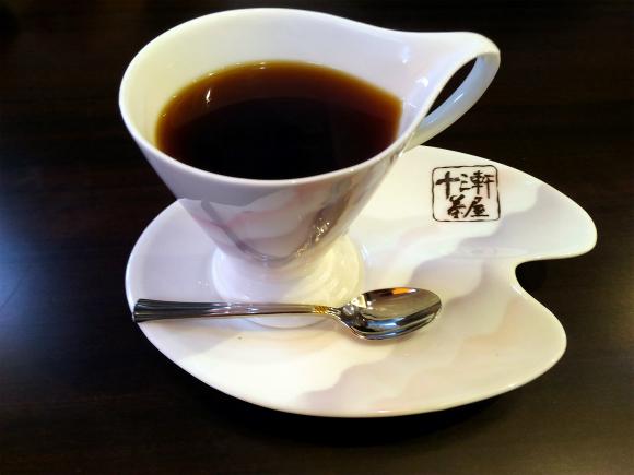 十三軒茶屋ブレンド、マイルド480円(税込)