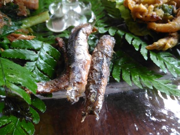 小魚の甘露煮