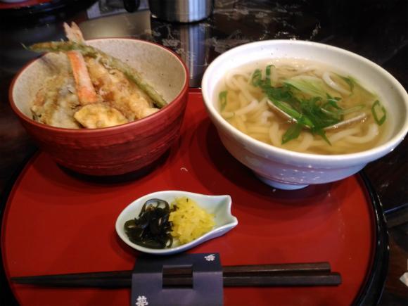 天ぷら丼セット