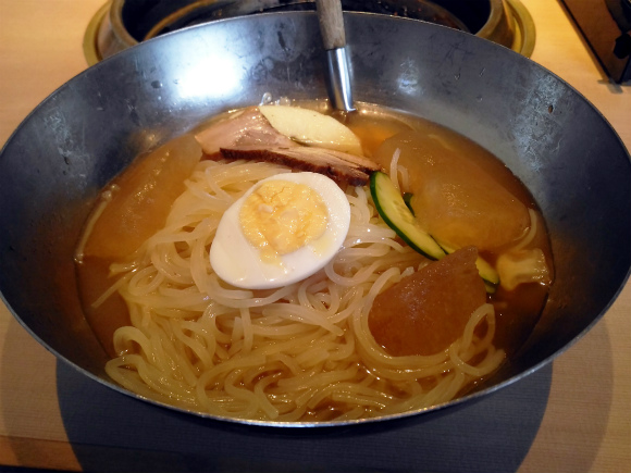 氷結韓国冷麺