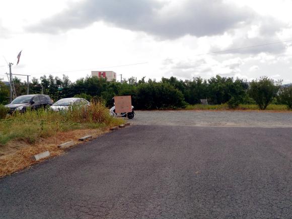 アメリカンダイナー コラボ 駐車場