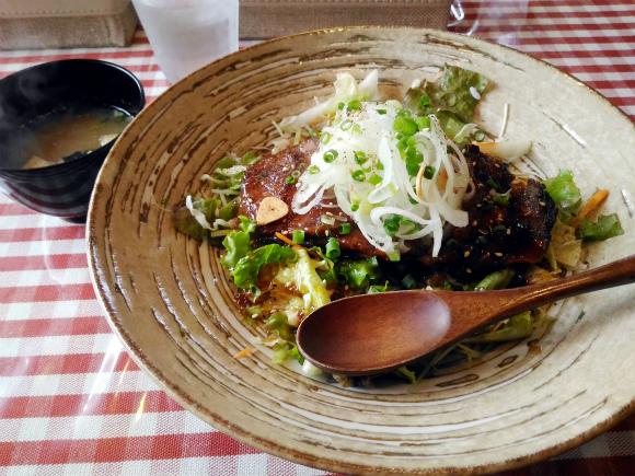 国産牛和風ビフテキ丼