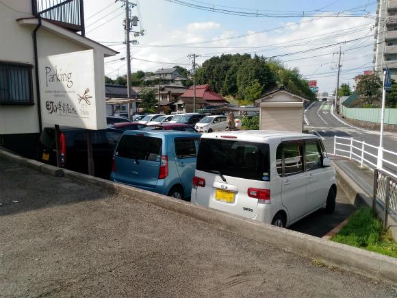 町の洋食屋さんTokira、駐車場