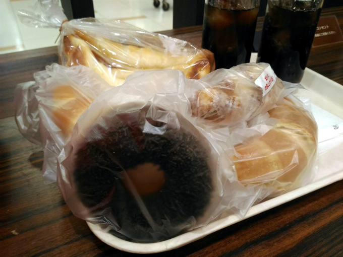 ポンパドウル 福山ポートプラザ店のパンたち