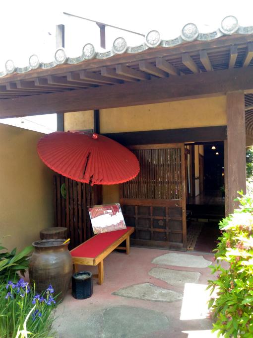 備中屋長衛門の玄関