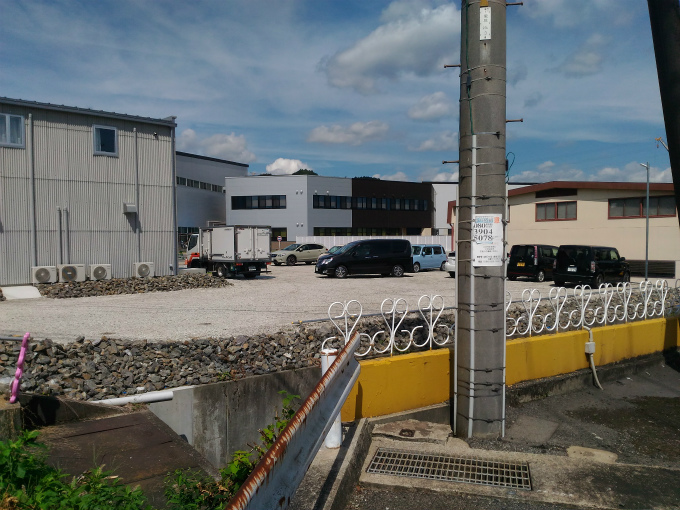 ル・コック・ルージュ 駐車場