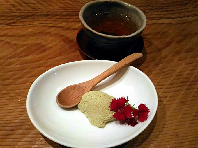 抹茶のムース