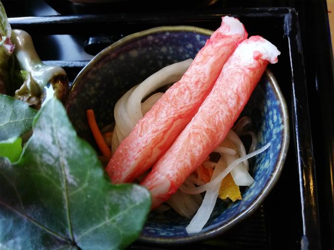 カニカマと野菜のマリネ