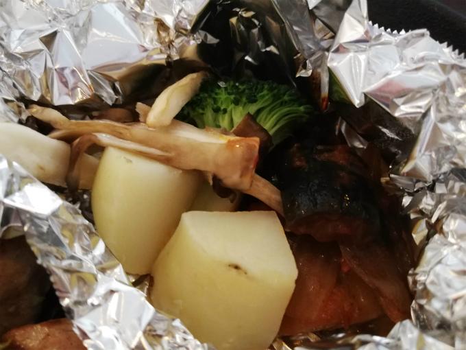 野菜のホイル焼き