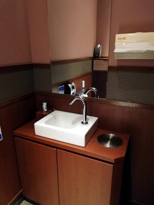 トイレ内手洗いコーナー