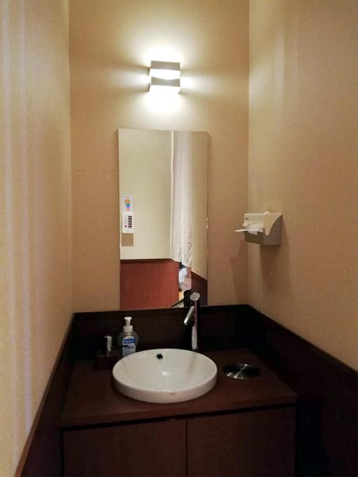 トイレ外手洗いコーナー