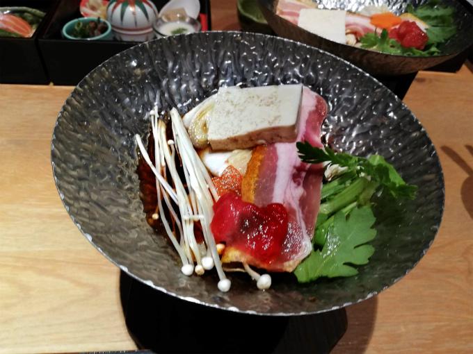 豚のすき鍋
