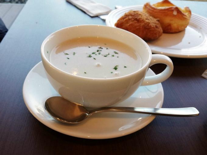 北海道ジャガイモのスープ