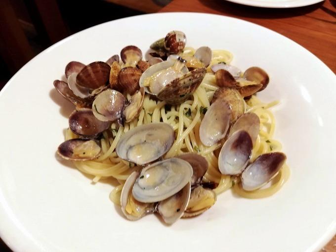 アサリと大葉のスパゲティ