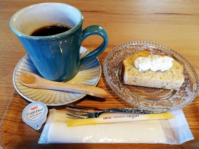 ブレンドコーヒー&バナナケーキ