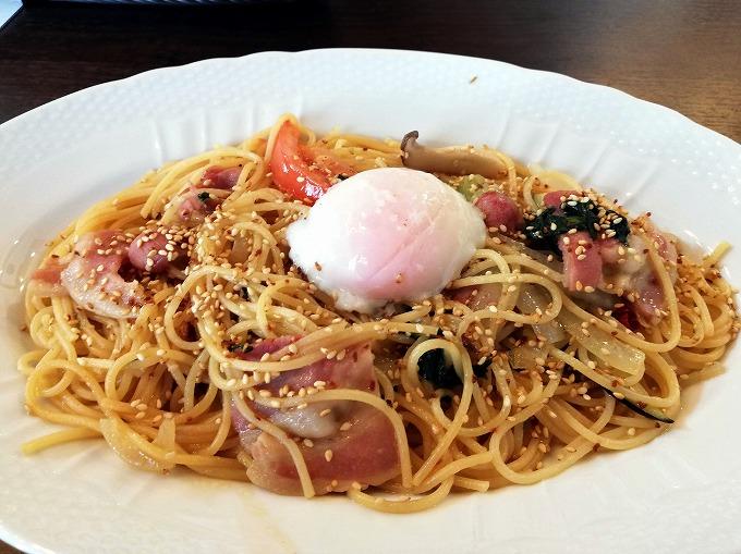 星乃スパゲッティー(具だくさん醤油バター)
